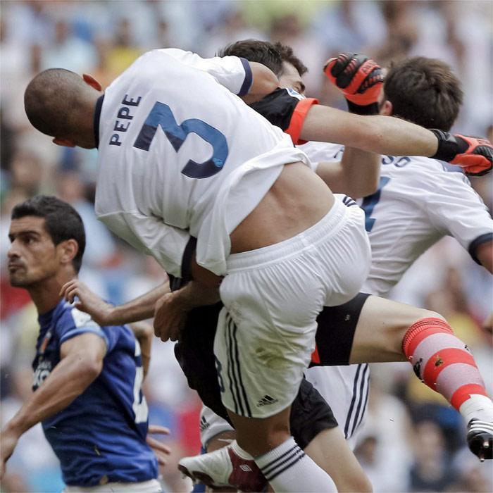 Защитник «Реала» Пепе не сможет принять участие в первой игре за Суперкубок Испании