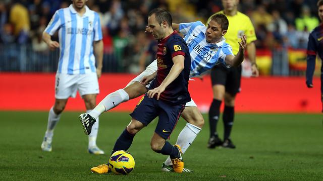 Испанская Ла лига. «Малага» сразится с «Барселоной», и другие матчи воскресенья