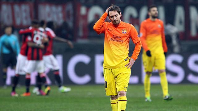 """Champions League 2012/13. Milán 2-0 Barcelona. """"Arriando el confalón blaugrana o sorpresas a la italiana"""""""