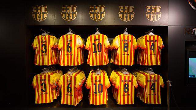 «Барселона» сыграет против «Баварии» в новой выездной форме (ФОТО)