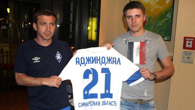 Аджинджал и Григалава представлены в качестве футболистов «Крыльев Советов»