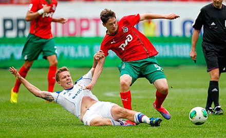 Алексей Миранчук: откровенно говоря, датчане впечатлили — хорошая команда, с контролем мяча