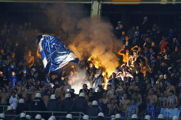 УЕФА дисквалифицировал фанатскую трибуну «Зенита»