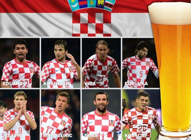 Восемь футболистов сборной Хорватии после игры с Исландией до пяти утра развлекались в баре
