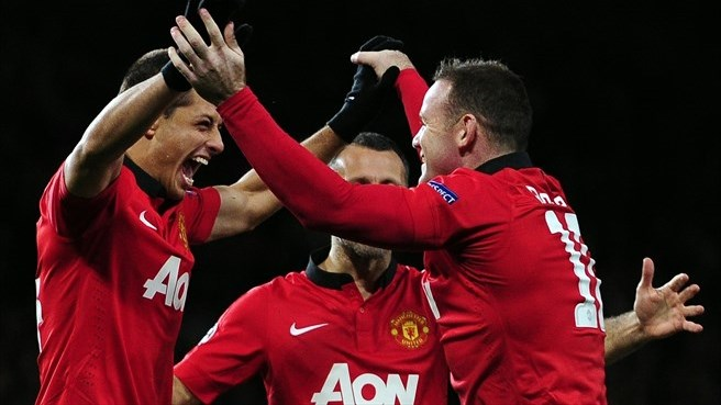 Лига чемпионов-2013/14. «Манчестер Юнайтед» переиграл «Реал Сосьедад»