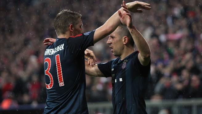 Лига чемпионов-2013/14. «Бавария» разгромила пльзеньскую «Викторию»