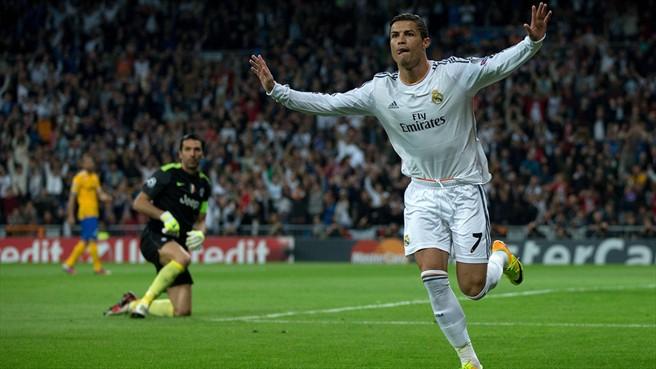 Криштиану Роналду стал третьим бомбардиром в истории Лиги чемпионов