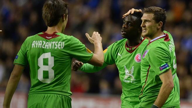 Лига Европы-2013/14. «Рубин» — «Уиган». Онлайн-трансляция начнется в 21.00
