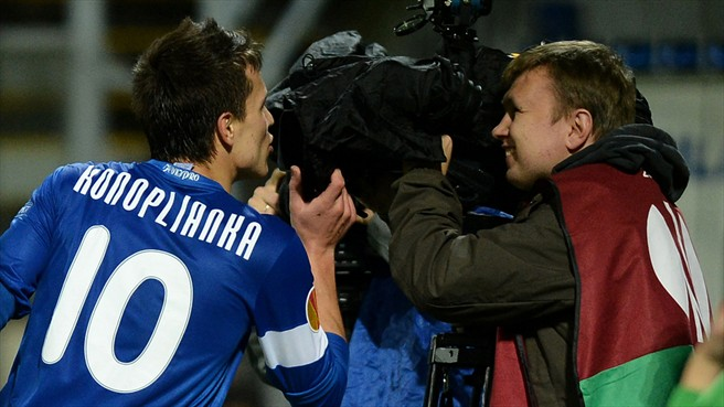 Лига Европы-2013/14. «Днепр» уступил «Фиорентине» и вышел в плей-офф со второго места