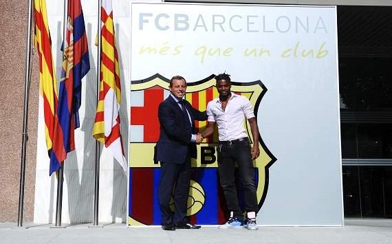 Алекс Сонг счастлив перейти в «Барселону»