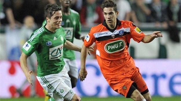Французская Лига 1. «Лорьян» — «Сент-Этьен» — 3:1. Хроника событий