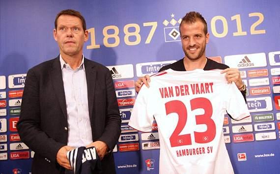 Ван дер Варт: «В любом случае не покину «Гамбург»