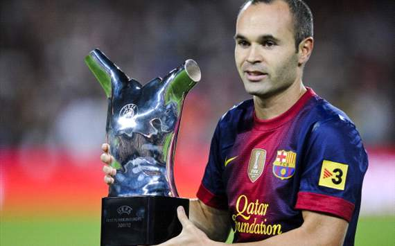 Андрес Иньеста хочет выиграть Лигу чемпионов