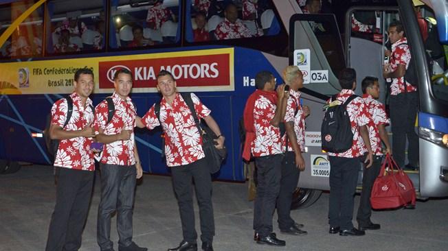 Кубок конфедераций. Таити — Нигерия. Онлайн-трансляция начнется в 23.00
