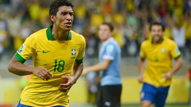 Кубок конфедераций. Полуфинал. Сборная Бразилии вырвала победу в матче с Уругваем