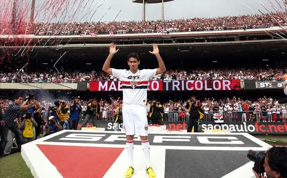 Гансо: «Счастлив перейти в «Сан-Паулу»