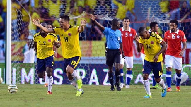 Чемпионат мира-2014. Сборная Колумбии пробилась в финальную стадию благодаря дублю Фалькао в матче с чилийцами, и другие результаты (ВИДЕО)