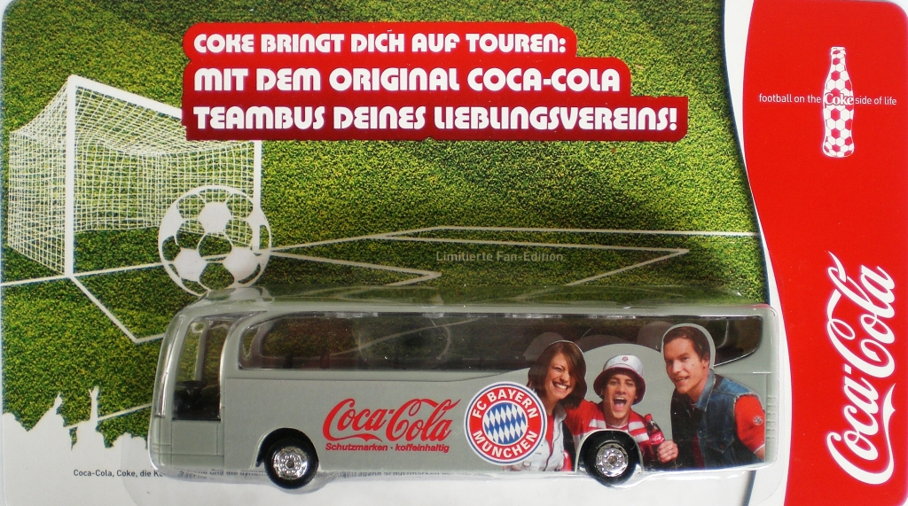 Bayern and Coca Cola refresh the sponsorship deal