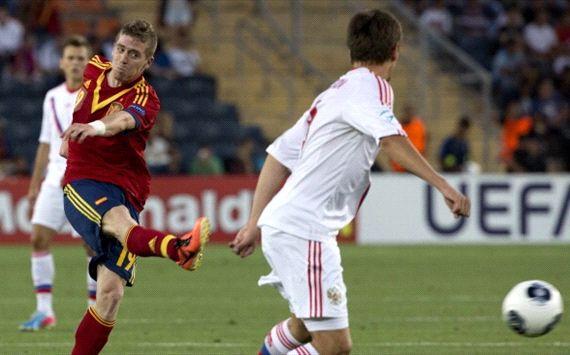 Чемпионат Европы (U-21). Германия — Испания — 0:1. Хроника событий