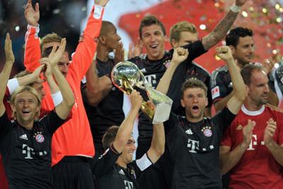 Bayern Munich won their fifth German Super Cup title