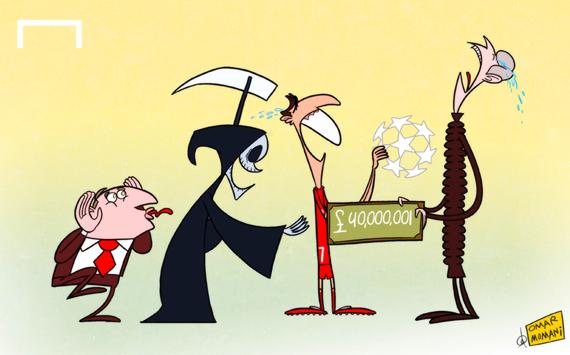 Лучшая карикатура дня. Надежда Венгера подписать Суареса умерла