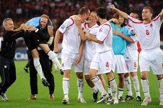 Топ-5 величайших побед в истории сборной Люксембурга