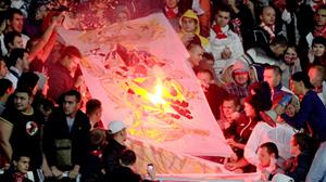 Болельщики московского «Спартака» подверглись нападению со стороны турецких фанатов