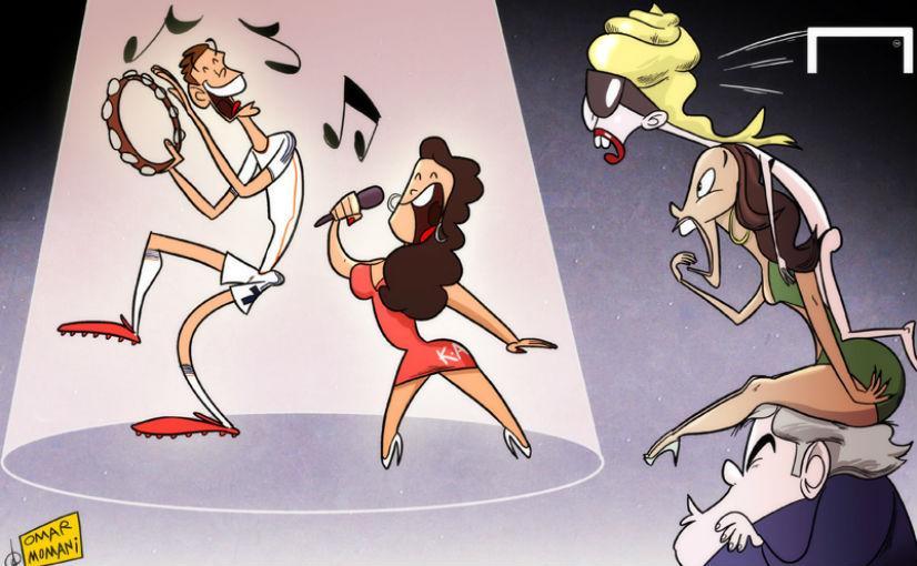 Лучшая карикатура дня. Сестра Криштиану Роналду Катя Авейру становится популярной певицей