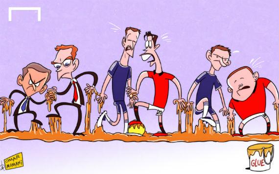 Лучшая карикатура дня. Вязкое противостояние «Манчестер Юнайтед» и «Челси»