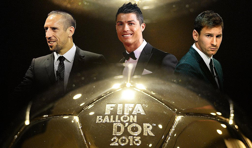 «Золотой мяч-2013». Лучший футболист мира: кто он? (ГОЛОСОВАНИЕ)