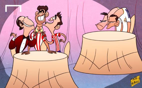 Лучшая карикатура дня. Диего Коста  угощает