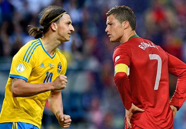 Чемпионат мира-2014. Раунд плей-офф. Португалия — Швеция. Онлайн-трансляция начнется в 23.45