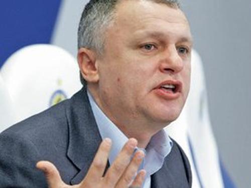 Президент киевского «Динамо» отказался обсуждать возможную отставку тренера
