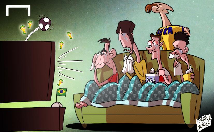 Лучшая карикатура дня. Суперзвезды, которых будет не хватать на чемпионате мира