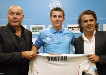 Джои Бартон может дебютировать за «Марсель» в четверг в матче Лиги Европы против «Фенербахче»