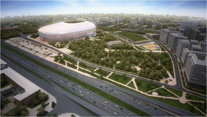 Московское «Динамо» определилось с проектом реконструкции стадиона