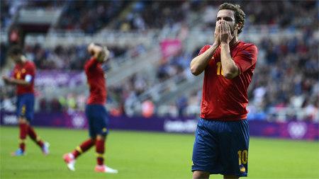 Олимпийский футбольный турнир для Испании фактически окончен