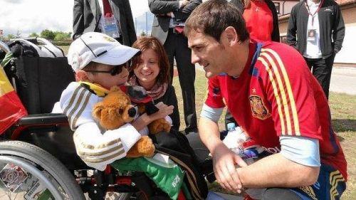 Икер Касильяс не праздновал голы «Реала» в матче Лиге чемпионов в память об умершем польском мальчике
