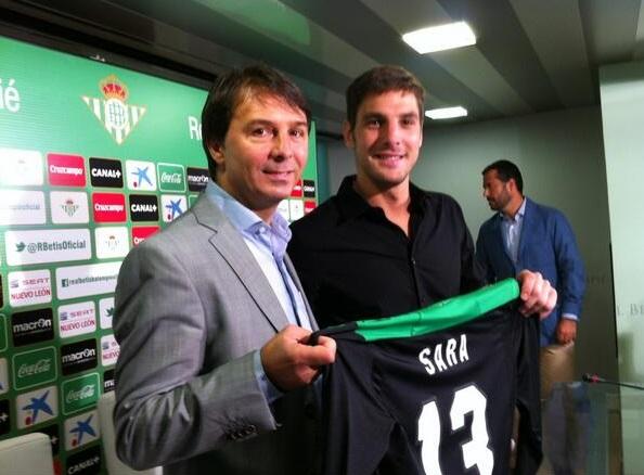 Гильермо Сара официально представлен в качестве нового игрока «Бетиса»