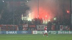 УЕФА напомнил «Спартаку» об испытательном сроке
