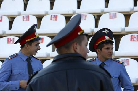 15 фанатов «Спартака» были задержаны в Краснодаре