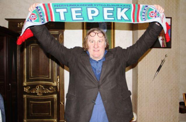 Депардье стал фанатом «Терека» (ФОТО)