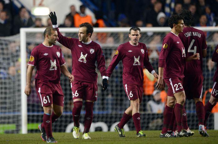 Лига Европы-2013/14. «Рубин» — «Ягодина» — 1:0. Хроника событий