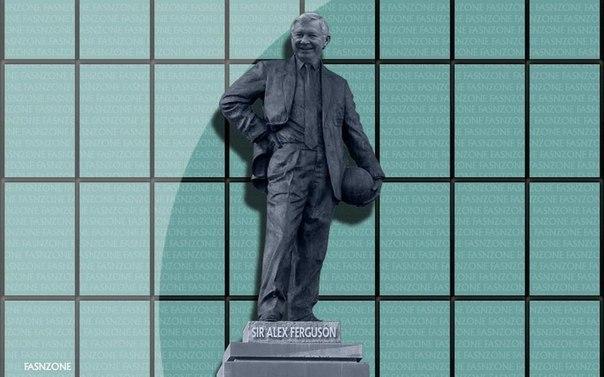 «Манчестер Юнайтед» установит статую Алекса Фергюсона