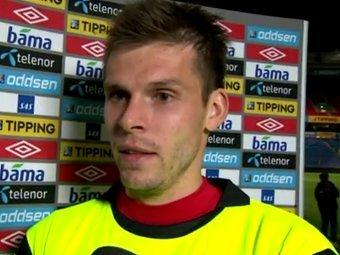 Норвежский вратарь Руне Ярстейн разозлился на журналистов