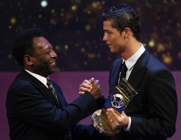 Пеле: Месси и Криштиану Леонарду— основные претенденты на «Золотой мяч»