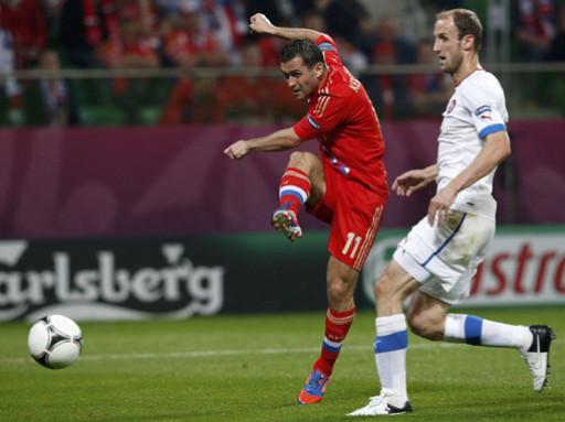 Второй гол Кержакова в ворота Израиля стал историческим
