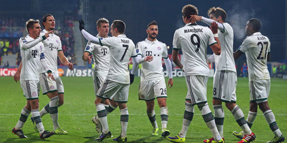 Лига чемпионов-2013/14. «Бавария» с минимальным счетом обыграла «Викторию»