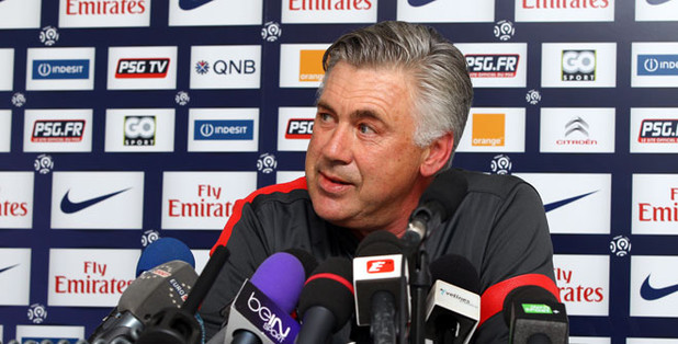 """Carlo Ancelotti: """"French title depends on me"""""""