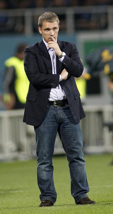 Главый тренер БАТЭ Виктор Гончаренко поделился своими впечатлениями после жеребьевки Лиги Чемпионов